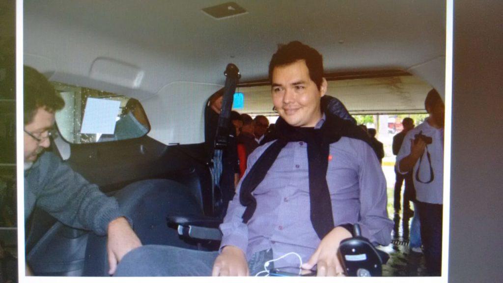 Agora Presidente Prudente conta com serviço de táxi adaptado para pessoas com deficiência.