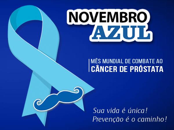 Novembro AZUL, a FETACESP apoia essa causa!