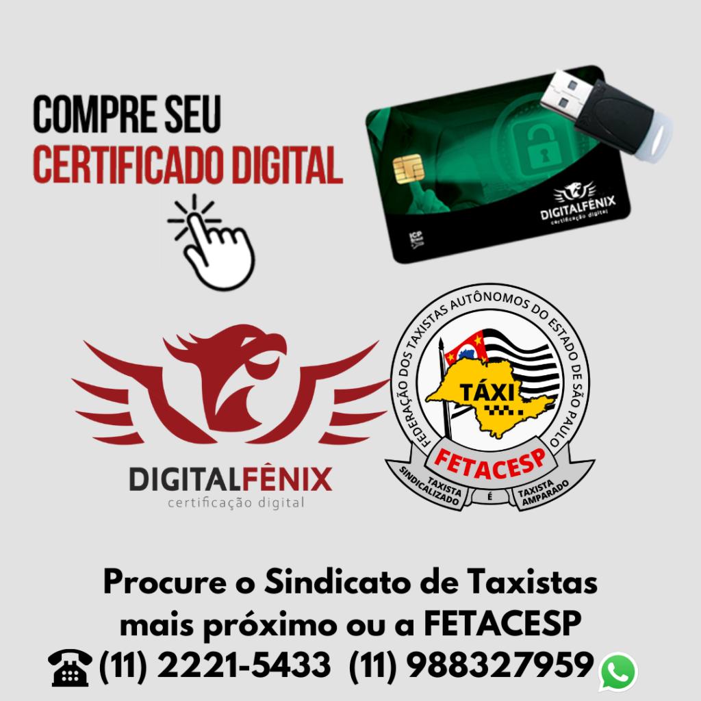 Certificação Digital – Parceria Fetacesp e Digital Fênix